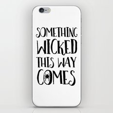 Something Wicked This Way Comes Halloween iPhone & iPod Skin