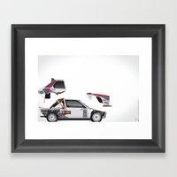 Henri Toivonen-Sergio Cr… Framed Art Print