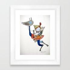 sleepwalker Framed Art Print