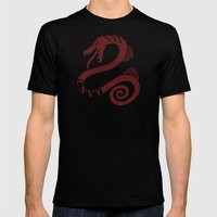 The Serpent's Sin of Envy Mens Fitted Tee Black SMALL