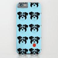 Dogs Blue iPhone 6 Slim Case
