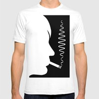 Why'd You Only Call Me W… Mens Fitted Tee White SMALL