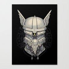 Viking robot Canvas Print