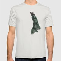 Occupy Mens Fitted Tee Silver SMALL
