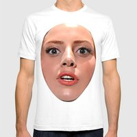 ARTPOP  Mens Fitted Tee White SMALL