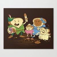 Yep, just a little bit of fairy peanut butter Canvas Print