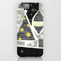 iPhone & iPod Case featuring achromatic holidays by ottomanbrim