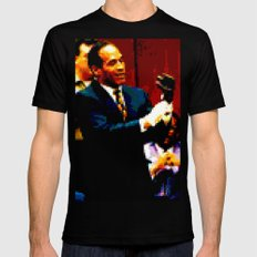OJ SMALL Mens Fitted Tee Black