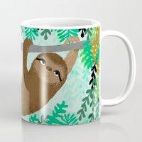 Sloth - By Andrea Lauren Mug