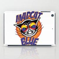 MadCat Blue iPad Case