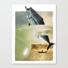 the big fish... Canvas Print