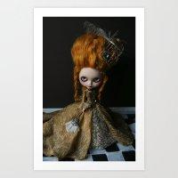 BAROQUE MARIE ANTOINETTE… Art Print