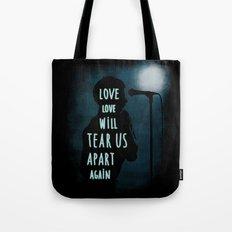 Love will tear us apart again Tote Bag