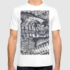 ' ChompZ ' By: Matthew Crispell Mens Fitted Tee White SMALL
