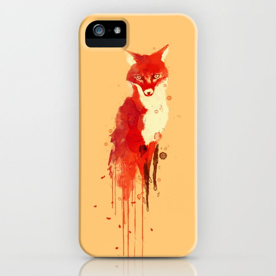 The fox, the forest spirit iPhone & iPod Case