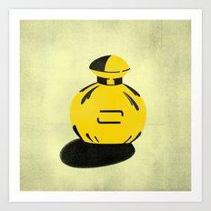 Perfume Pop Art Art Print