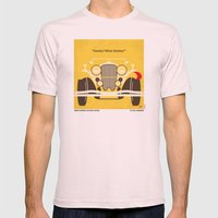 No206 My The Great Gatsby minimal movie poster Mens Fitted Tee Light Pink SMALL