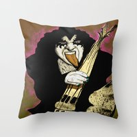 Poster The Great Gene Si… Throw Pillow