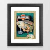 Dirty Joantini Framed Art Print