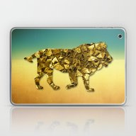 Animal Mosaic - The Lion Laptop & iPad Skin