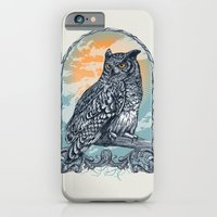 iPhone & iPod Case featuring Twilight Owl by Rachel Caldwell