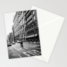 Afternoon Bicycle Ride in Soho - New York City Stationery Cards