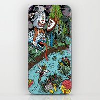 Some of us were born to explore!  iPhone & iPod Skin