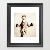St. Boxer Framed Art Print