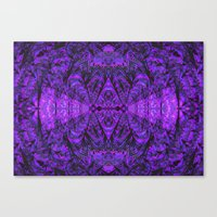 Violet Void Canvas Print