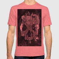 Metal Skull Mens Fitted Tee Pomegranate SMALL