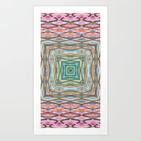 Touchy Vibrations. Art Print