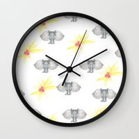 INDIAN WALLPAPER Wall Clock