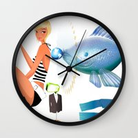Surrealism Wall Clock