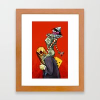 All Hallows March Framed Art Print