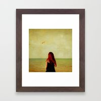 From A Distance Framed Art Print