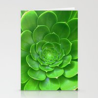 Green Within Stationery Cards
