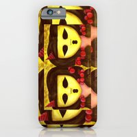 iPhone & iPod Case featuring Twins from The Ghostesses of Caprice by Krissy P. Divina