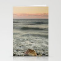 The Red Rock And The Shi… Stationery Cards