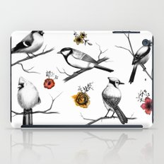 BIRDS & FLOWERS iPad Case