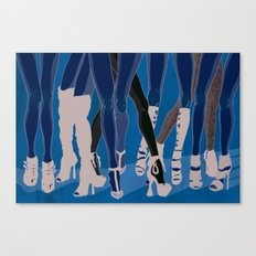 Z!NK Magazine: What is it about women in heels? Canvas Print