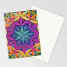 The Flower of Life variation Stationery Cards