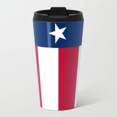 State flag of Texas - official vertical banner version Travel Mug