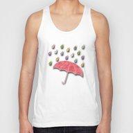 It's Raining, It's Pouri… Unisex Tank Top
