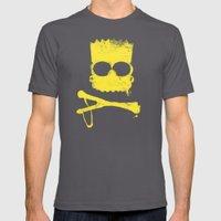 Pochoir - Bart Mens Fitted Tee Asphalt SMALL