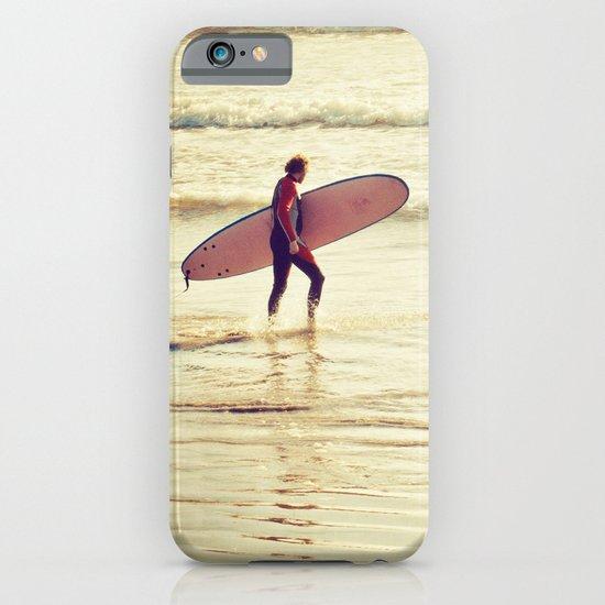 Golden Surf iPhone & iPod Case