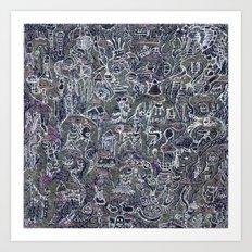 ghosties Art Print