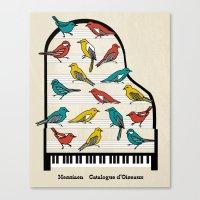 Messiaen - Catalogue D'O… Canvas Print