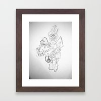 The Simple Elements Framed Art Print