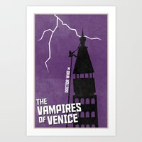 The Vampires Of Venice (… Art Print