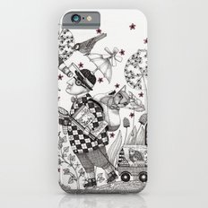 Mr. Hat goes to the Park iPhone 6 Slim Case